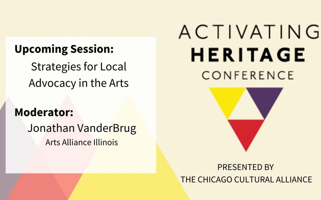 Strategies for Local Advocacy in the Arts